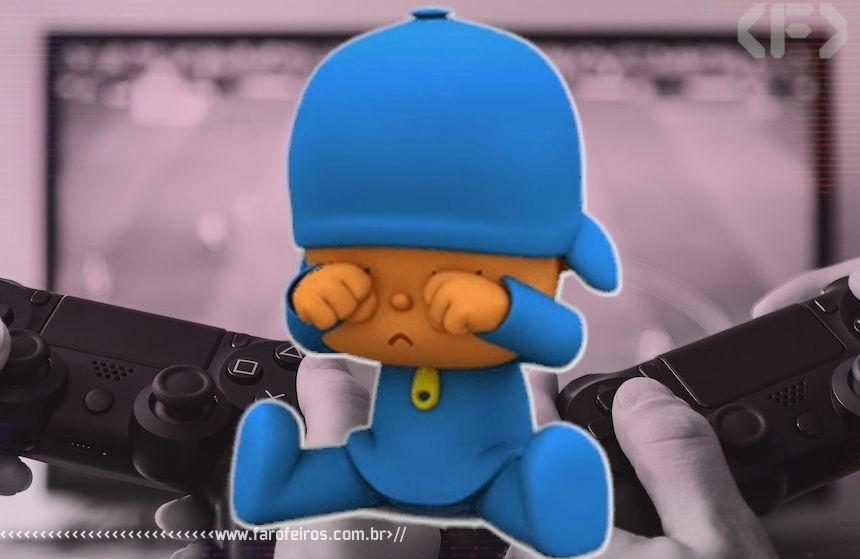 Videogame estraga a TV - Pocoyo - Blog Farofeiros