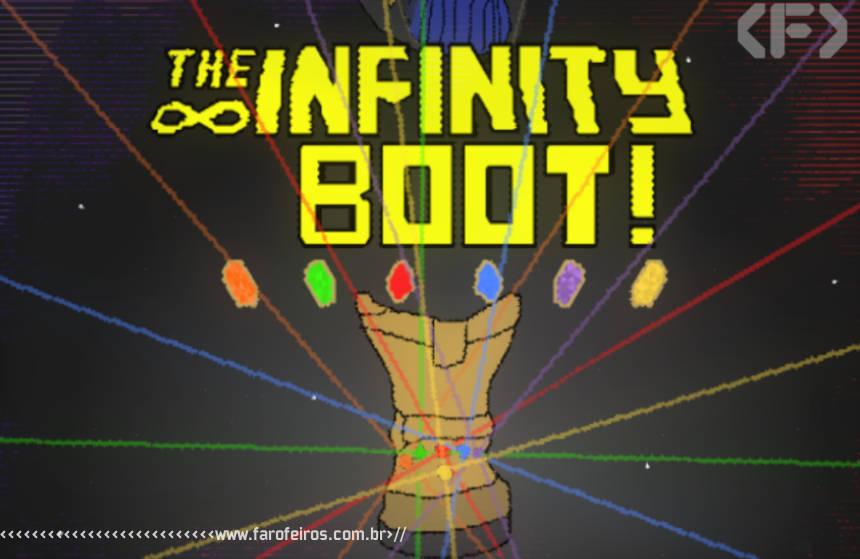 A Bota do Infinito - The Infinity Boot - Thanos - Blog Farofeiros