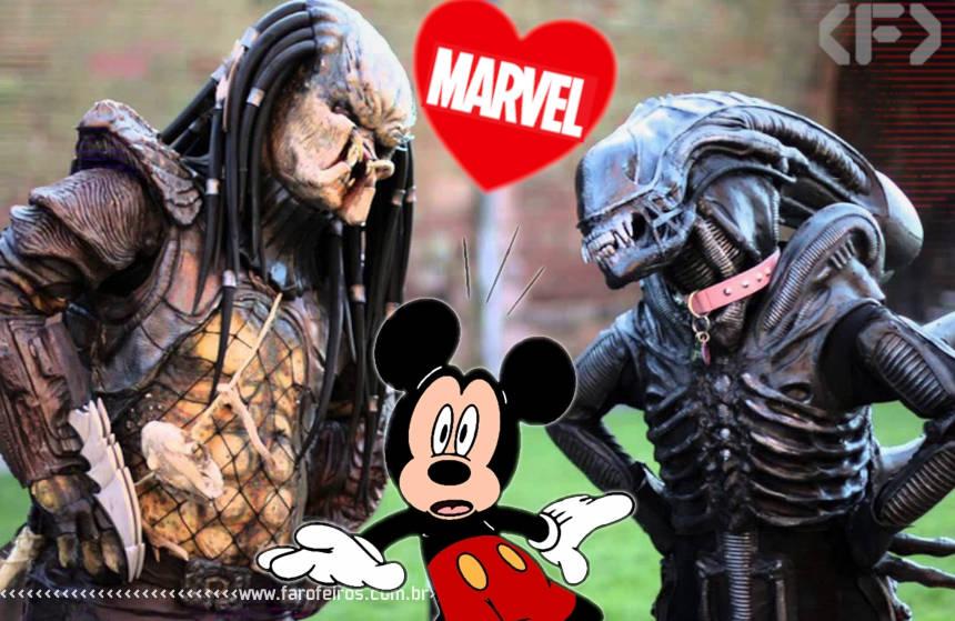 Alien e Predador na Marvel Comics - Blog Farofeiros