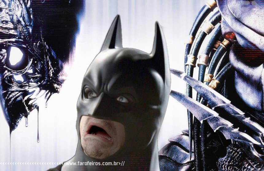 Batman vs Alien vs Predador - Blog Farofeiros