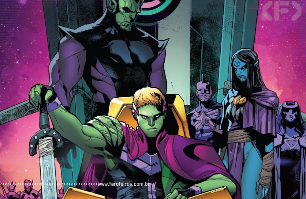 Fui enganado por Empyre #1 - Vingadores - Quarteto Fantástico - Kree - Skrull - Cotati - Hulkling - Blog Farofeiros