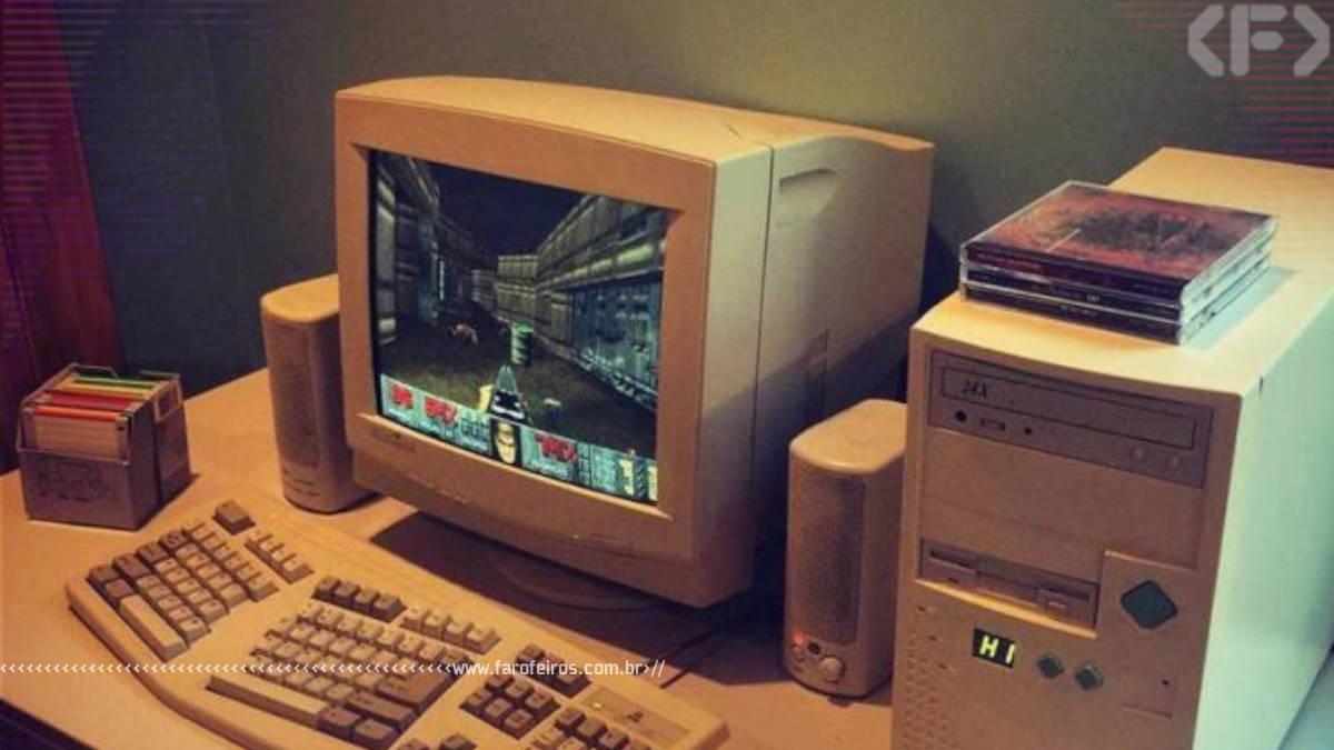 Tá caro ser gamer - PC velho - Blog Farofeiros