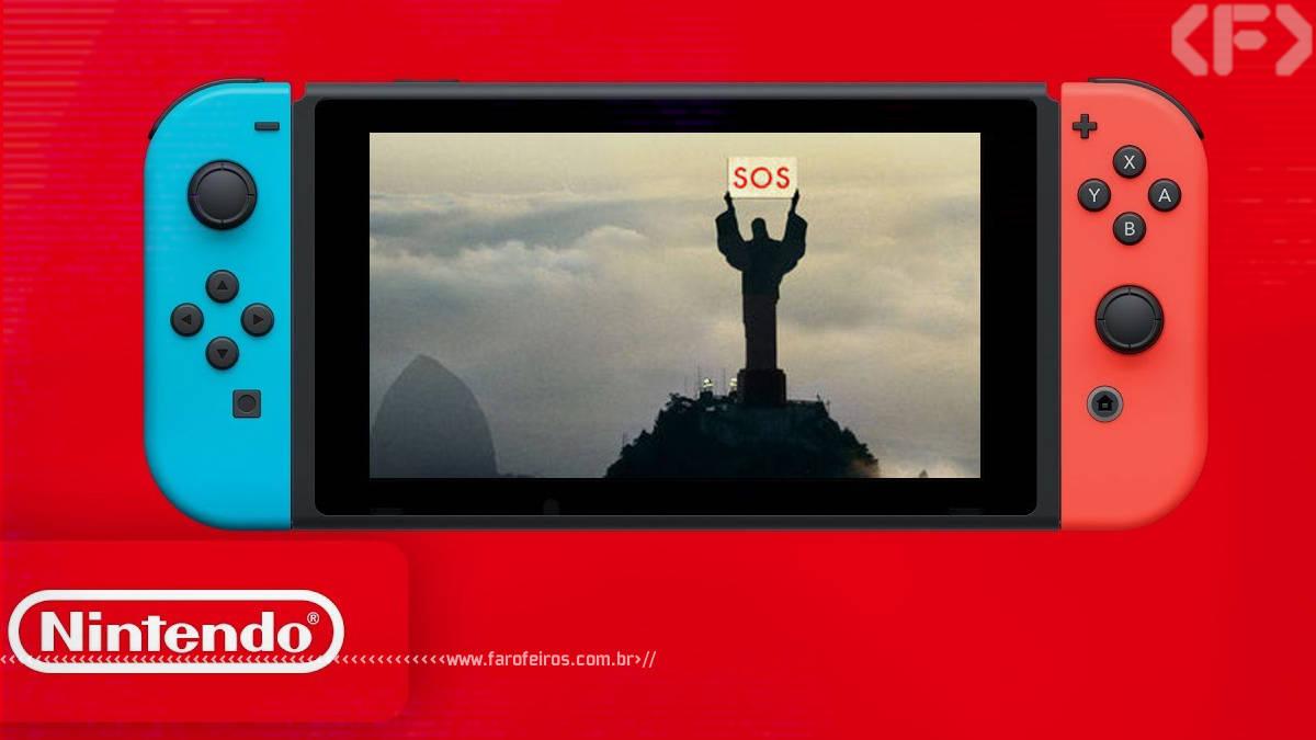 Nintendo no Brasil - Blog Farofeiros