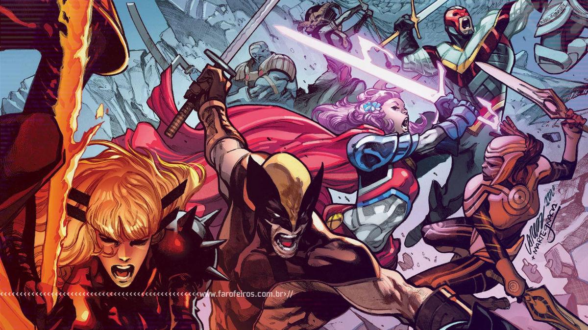 Swords of X - X-Men - As batalhas de X de Espadas - Blog Farofeiros
