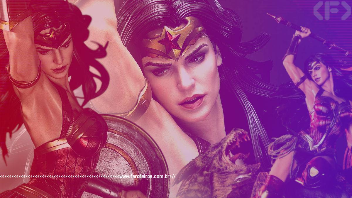 Wonder Woman versus Hydra - Prime 1 Studio - Mulher Maravilha - Blog Farofeiros