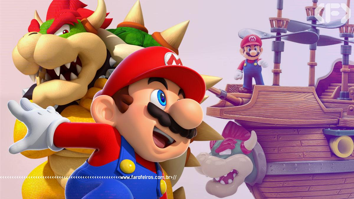 Barco do Bowser - Super Mario - Blog Farofeiros