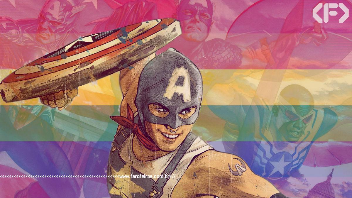 Capitão América gay - United States of Captain America - Blog Farofeiros