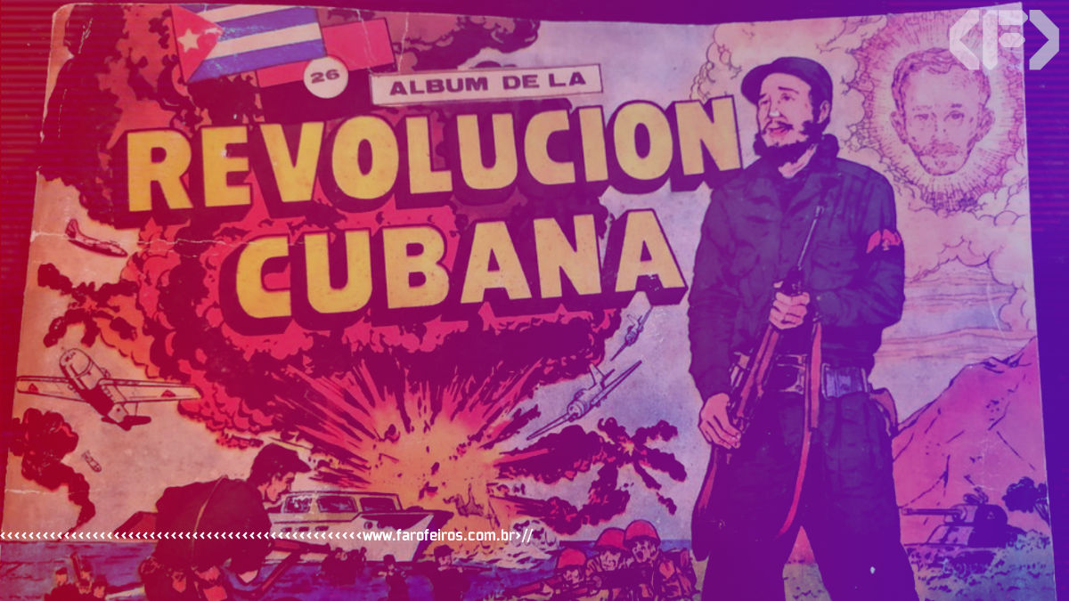 Álbum de figurinhas da Revolução Cubana - Véia dos Causos - Blog Farofeiros