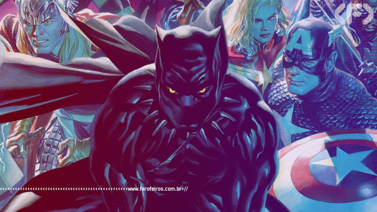 Novo gibi do Pantera Negra por John Ridley - Marvel Comics - 00 - Blog Farofeiros