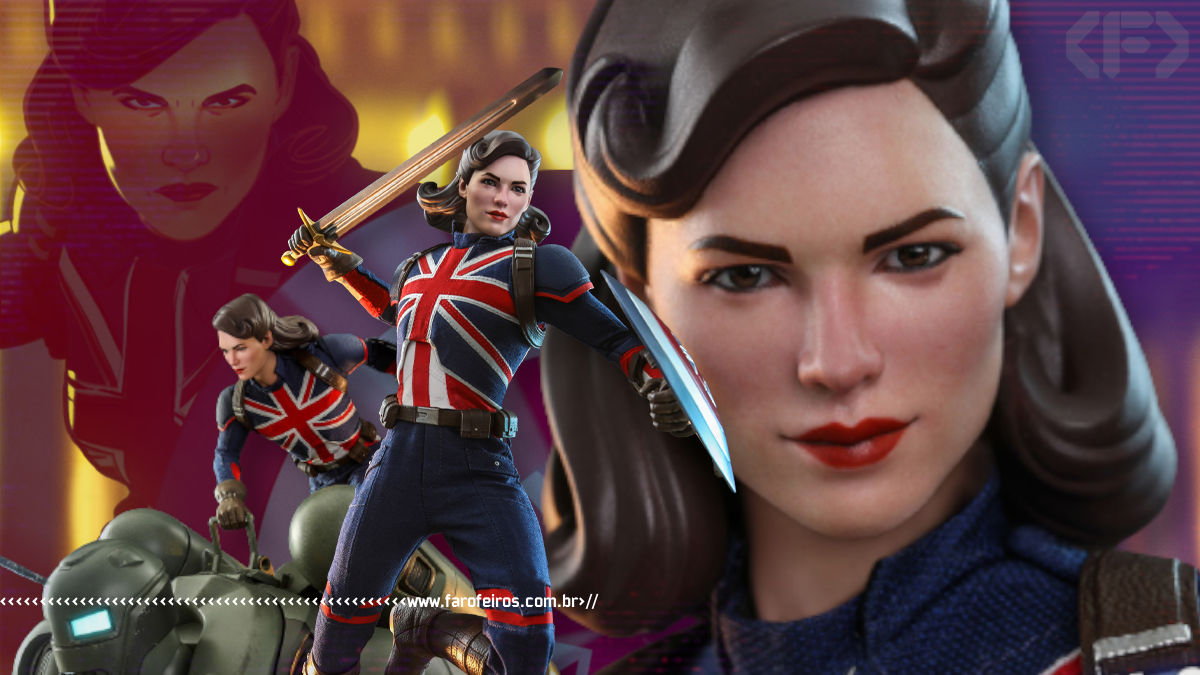 Capitã Carter da Hot Toys - Marvel Studios What If - Blog Farofeiros