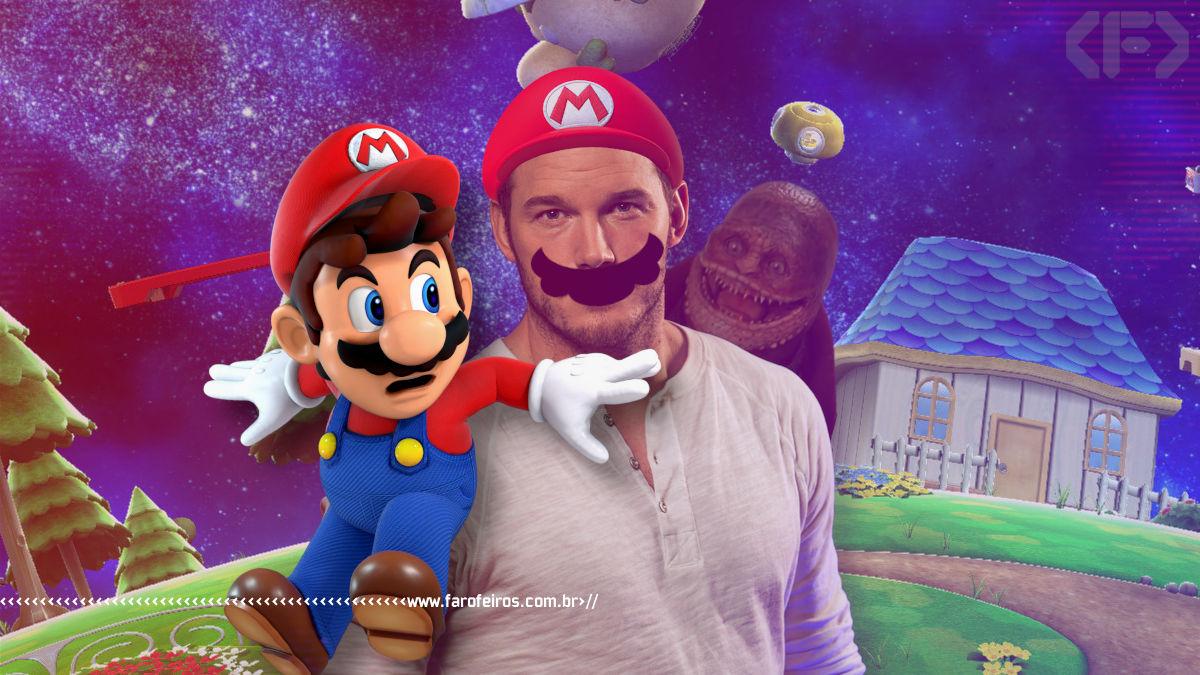 Filme do Super Mario sem o Super Mario - Chris Pratt - Nintendo - Blog Farofeiros
